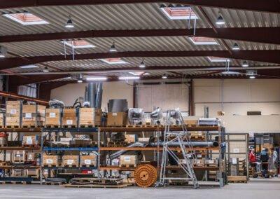 HIGHBAY ONE case: Brüel Systems